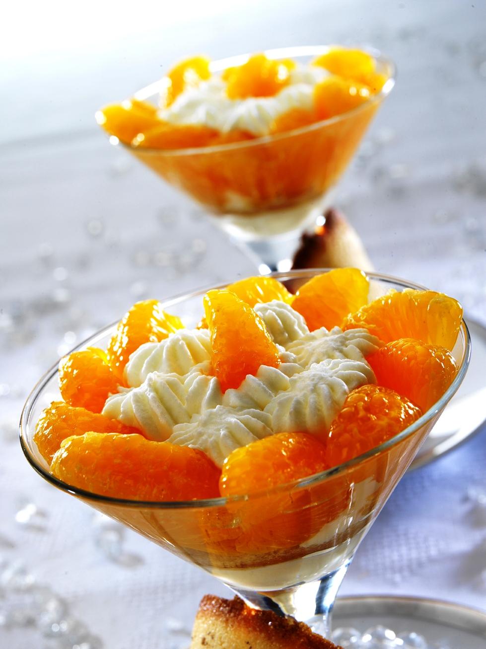 Postres con mandarina cocinar con milagros - Postre con mandarinas ...