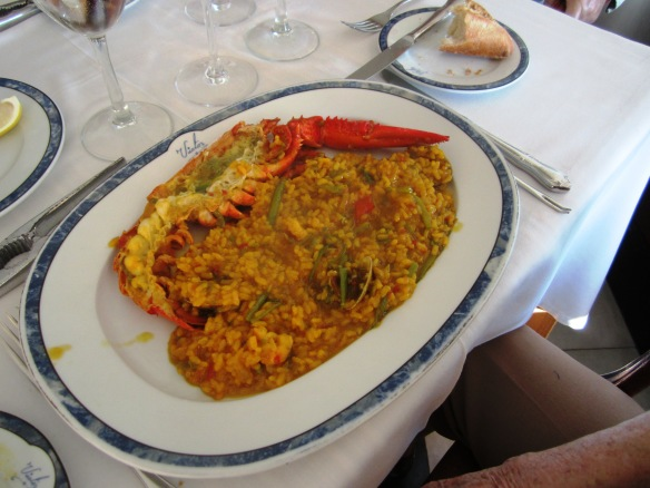 Arroz con bogavante-Restaurante Victor Guadalmina Cocinar con Milagros